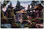 view S. F. 47. Tea House and Entrance, Japanese Tea Garden, golden Gate Park San Francisco, California digital asset: S. F. 47 Tea House and Entrance, Japanese Tea Garden, Golden Gate Park, San Francisco, California.