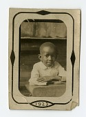 view Portrait of young African-American Boy digital asset: Portrait of young African-American Boy