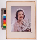 view Girl in bridal dress digital asset: Girl in bridal dress
