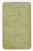view Jesse James in Death digital asset: verso, Jesse James in Death