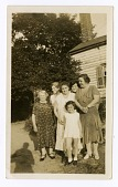view Group of five women and one child digital asset: Group of five women and one child