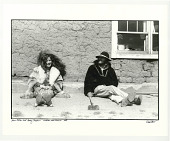 view Janis Joplin and Tommy Masters. Truchas, NM. 1969 digital asset: Janis Joplin and Tommy Masters.  Truchas, NM. 1969