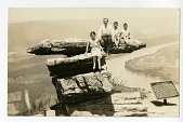 view family sitting on precipice at site of battle of wahatchie digital asset number 1