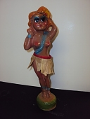 view Hawaiian Hula Dancer digital asset: chalkware