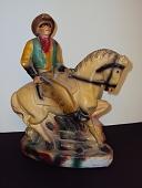 view Lone Ranger chalkware figurine digital asset: chalkware