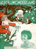 "view ""Alice in Wonderland"" digital asset: Sheet Music"