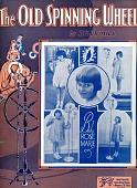 """view """"Old Spinning Wheel"""" digital asset: Sheet Music"""