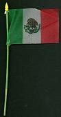 view 1968 Summer Olympics souvenir flag digital asset: Olympic flag