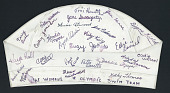 view Swim cap worn by Cathy Jamison (Imwalle) at the 1968 Mexico City Summer Olympics digital asset: Swim cap