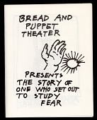 view The Story Of One Who Set Out To Study Fear digital asset: Bread and Puppet Theater program