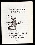 view Insurrection Opera No 1, The End Falls Before the Beginning digital asset: Bread and Puppet Theater program