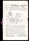 view Simple and Cheap Recipes for Puppetmaking digital asset: Bread and Puppet Theater program