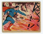 view Trading Card, Gum Inc. Superman No. 34 digital asset: Superman Bubble Gum Card