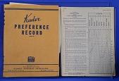 view Psychological Test, Kuder Preference Record. Form BB digital asset: Psychological Test, Kuder Preference Record. Form BB