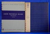 view Psychological Test, Kuder Preference Record Vocational. Form BB digital asset: Psychological Test, Kuder Preference Record Vocational. Form BB