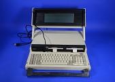 view Visual Commuter Computer digital asset: Commuter portable microcomputer, open.