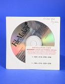 view FileMaker Pro 4.1 Software digital asset: Compact disc containing FileMaker Pro 4.1 software.