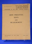 view Pamphlet, Army Personnel Tests and Measurement digital asset: Pamphlet, Army Personnel Tests and Measurement