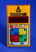"view Atari BH-100, ""Touch Me"" Electronic Game digital asset: Atari BH-100, 'Touch Me' Electronic Game, Front View"