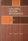 view Book, Exploring Modern Mathematics, Book 2 digital asset: Book, Exploring Modern Mathematics, Book 2, Front Cover