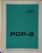 view Pamphlet, PDP-8 Course Work digital asset: Pamphlet, PDP-8 Course Work
