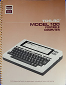view Documentation, TRS-80 Model 100 Portable Computer digital asset: Documentation, TRS-80 Model 100 Portable Computer