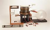 view Wilson's cloud chamber, replica of Cavendish Lab apparatus digital asset: Replica of Wilson's cloud chamber