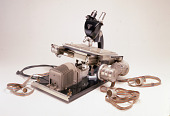 view emulsion scanning microscope digital asset: Emulsion-scanning microscope