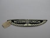 view Western Union cap badge #3 digital asset number 1