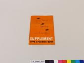 view Supplement Type Specimen Book digital asset number 1