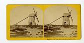 view No. 1230. Old Wind Mill, Nantucket, built 1746 digital asset number 1