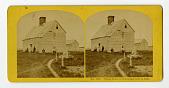 view No. 1231. Oldest House in Nantucket, built in 1686 digital asset number 1