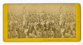 view No. 147. Congregation in Tabernacle, Camp Ground digital asset number 1