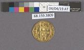 view 1 Ducat, Holy Roman Empire, 1602 digital asset: after treatment