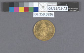 view 1 Ducat, Kremnitz, Holy Roman Empire, 1735 digital asset: after treatment