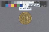 view 1 Ducat, Kremnitz, Holy Roman Empire, 1742 digital asset: after treatment