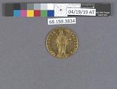 view 2 Ducats, Holy Roman Empire, 1784 digital asset: after treatment