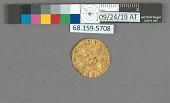 view 1/2 Dobla, Castile, Spain, 1390-1406 digital asset: after treatment