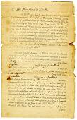 view Samuel Hopkins Patent License, Vermont, 1790 digital asset number 1
