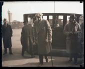 view Buck Weaver exiting cab digital asset: Baseball:  BB Scandal - Buck Weaver, Underwood #   64076
