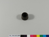 view Ebonite mortar, used in sericulture in Japan digital asset number 1