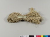 view Sample skein of reeled silk; Japan; 1885 digital asset number 1