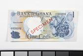 view 1 Cedi, Ghana, 1967 digital asset number 1
