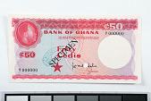 view 50 Cedis, Ghana, 1965 digital asset number 1