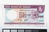 view 100 Cedis, Ghana, 1965 digital asset number 1