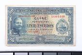 view 20 Escudos, Portuguese Guinea, 1937 digital asset number 1