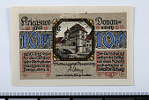 view 10 Pfennig Note, Donauworth, Germany, n.d. digital asset number 1