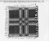 view Allanstand Cottage Industries; table mat; overshot; 1913; North Carolina digital asset number 1