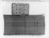 view Coverlet sample woven at Minnesota State Academy for the Blind, 1916 digital asset number 1