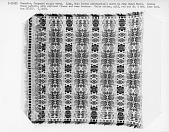 view John Henry Melly; Jacquard single weave Coverlet; Ohio, mid 19th C. digital asset number 1
